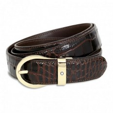 Mont Blanc Leather Belt 112898