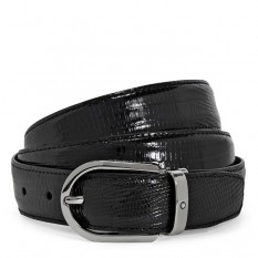 Mont Blanc Leather Belt 112923