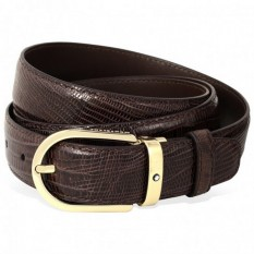 Mont Blanc Leather Belt 112925