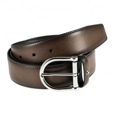 Mont Blanc Leather Belt 116693