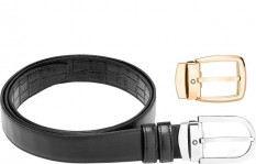 Mont Blanc Leather Belt Gift Set 1116853