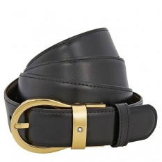 Mont Blanc Leather Belt 38579